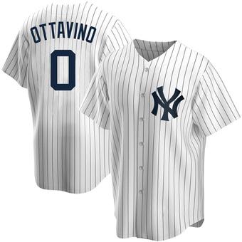 Men's Adam Ottavino New York White Replica Home Baseball Jersey (Unsigned No Brands/Logos)